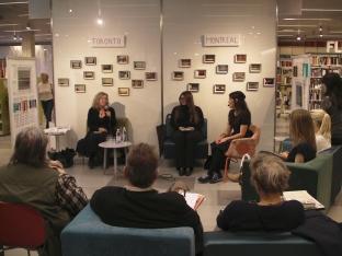 Bibliotek Nacka Forum: läsning och samtal med Lisa Moore och Mélanie Vincelette